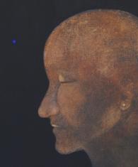 Juuri ennen, 2010, tempera kankaalle, 33 x 41 cm
