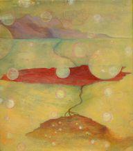 Kuinka kaikki syntyy III, 2010, tempera, 26 x 29,5 cm