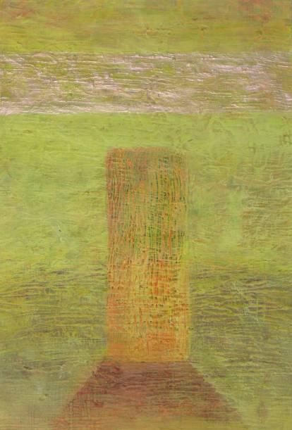 Pääsiäinen, 2013, akryyli paperille, 24 x 35,5