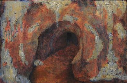 Mielessäni 2007, akryyli pahville, 97,5 x 65 cm