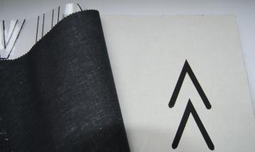 Kuviokankaat-katalogissa kangasmalli