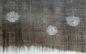 Kuurankukkia, 2014, öljy mdf-levylle, 19,5 x 30 cm 170 €