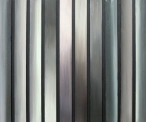 Taivaan valot, rajattu, 2014, öljy mdf-levylle, 48,5 x 51,5 cm 350 €